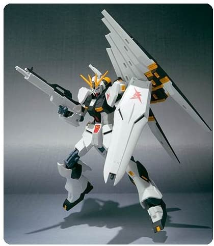 Amazon Com Gundam Mobile Suit Chars Counterattack 115 Nu Robot Spirits Action Figure Toys Games