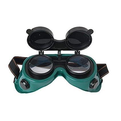 Ndier Flip-Up Front soldadura gafas con lentes de gafas de seguridad - El uso