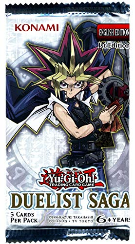 Amazon.com: YuGiOh Duelist Saga Booster Pack (5 cartas ...