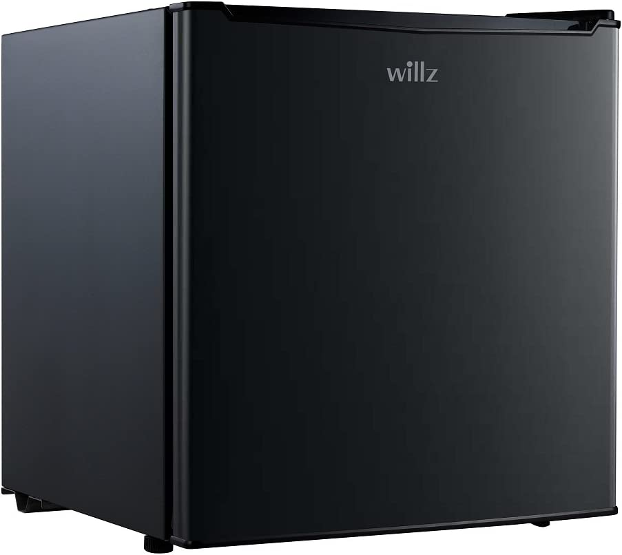 Willz WLR17BK 1.7 cu.ft. Refrigerator Single Door/ Chiller, Black