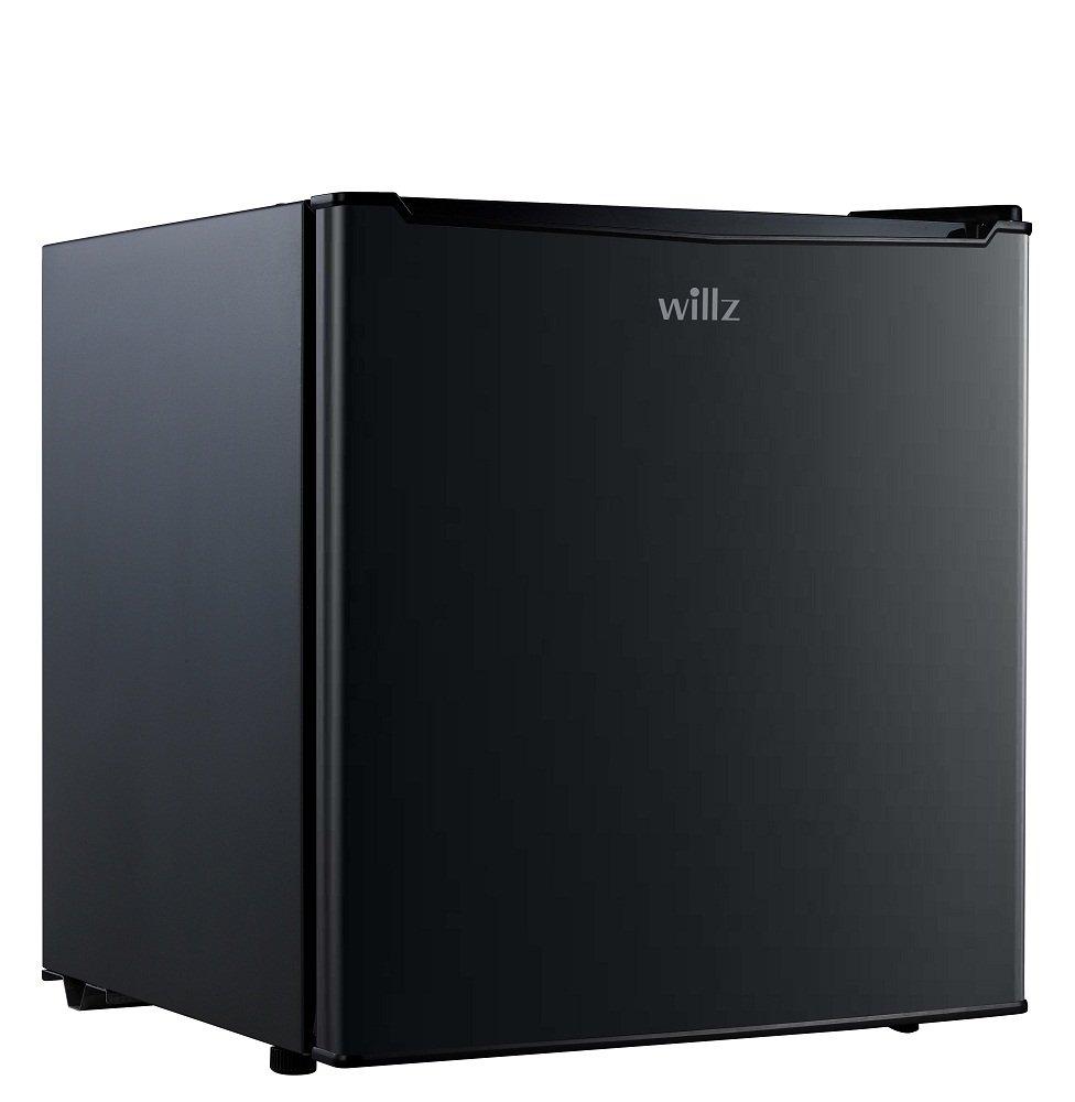 Willz WLR17BK 1.7 cu.ft. Refrigerator Single Door Chiller, Black