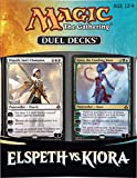 Magic The Gathering - 332496 - Jeu De Cartes - Elspeth Vs Kiora Duel Decks Thd - D6