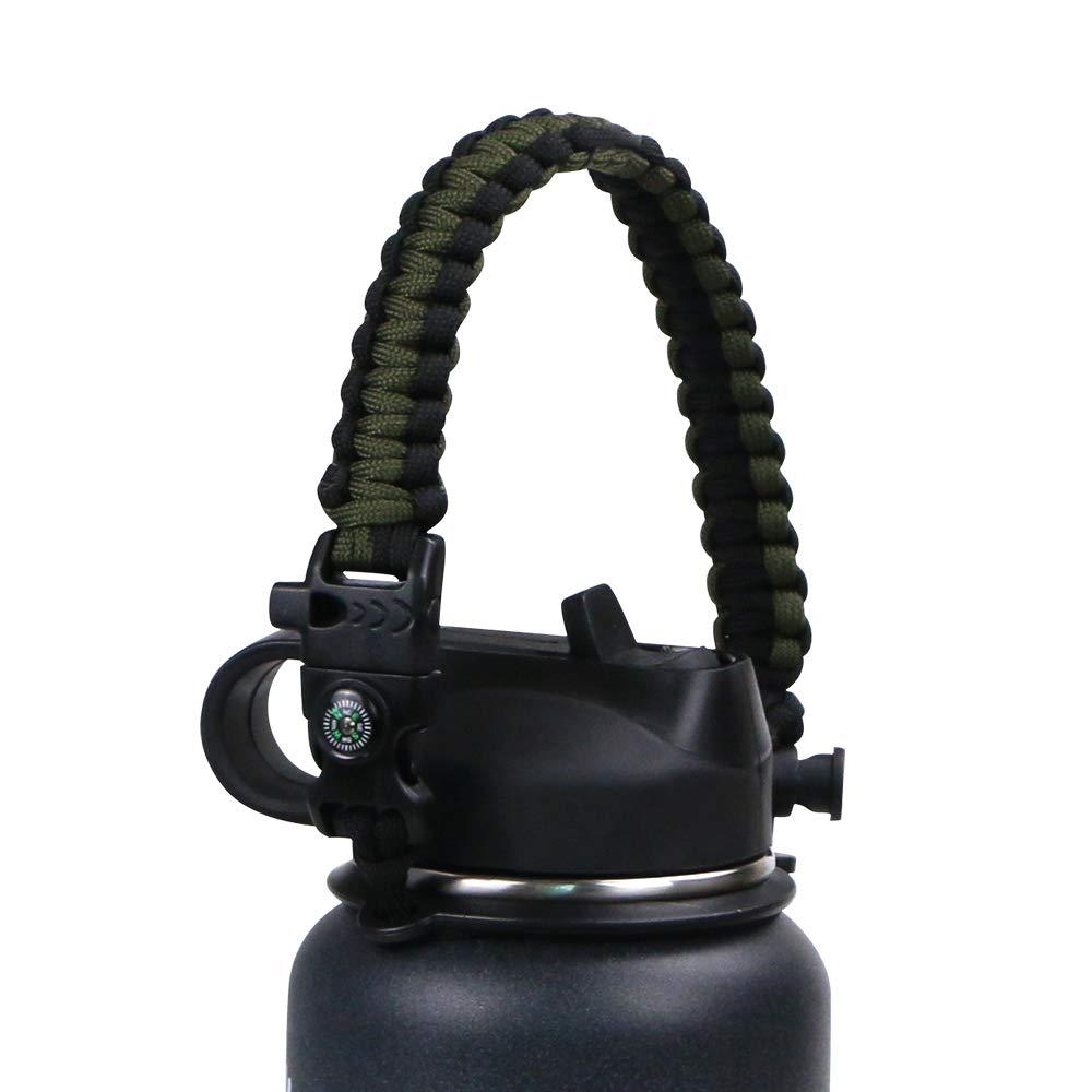 Vihir 60l + 10l内部フレーム登山バッグキャンプハイキングバックパックwith雨カバー B07GSVWH5M Army Green Black