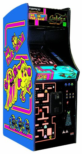 Pac Man Galaga Arcade Gaming Cabinet