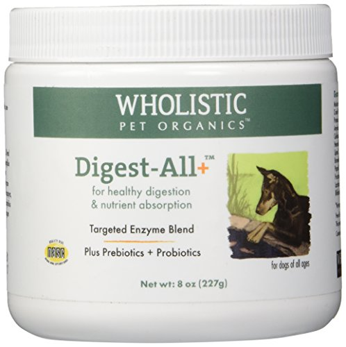 Wholistic Pet Organics Digest-All Plus Supplement, 8 oz by Wholistic Pet Organics