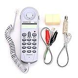 Telecom Check Telephone Line Dedicated Check Line Survey Line Machine CHINO-E C019 Tester to Alligator Clip Set Equipment