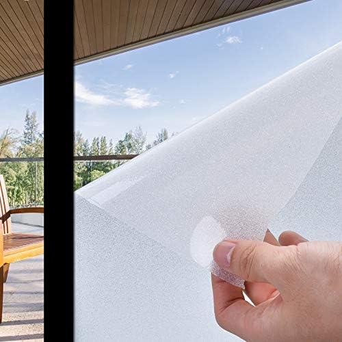 Privacy Window Film Non-Adhesive