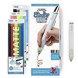 3Doodler Create+ 3D Pen Set with 75 Filaments (600'. of Extruded Plastic), Quartz Grey, 2018 Model (Us-Plug)