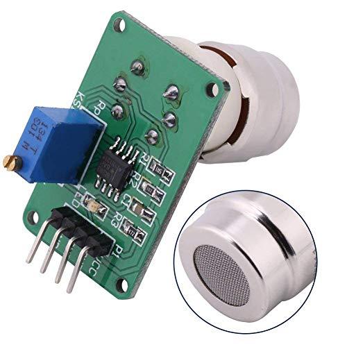 Carbon Dioxide Gas Sensor (REES52 CO2 Gas Carbon Dioxide Sensor Module, MG811 Arduino Carbon Dioxide Sensor Detector TTL Level with Analog Signal Output Temperature Compensation Output)