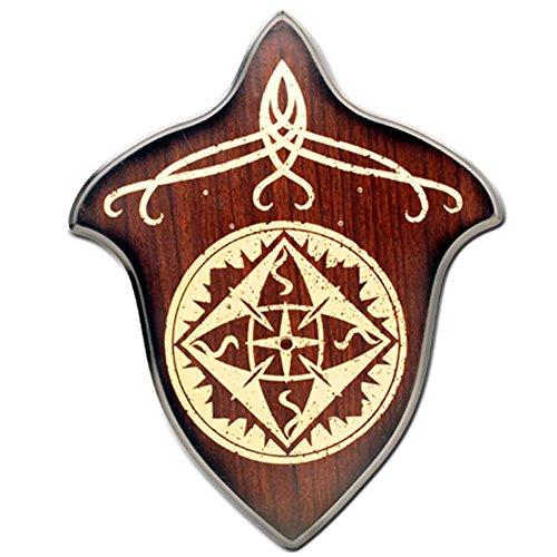 Hardwood Universal Sword Plaque - Hardwood Sword
