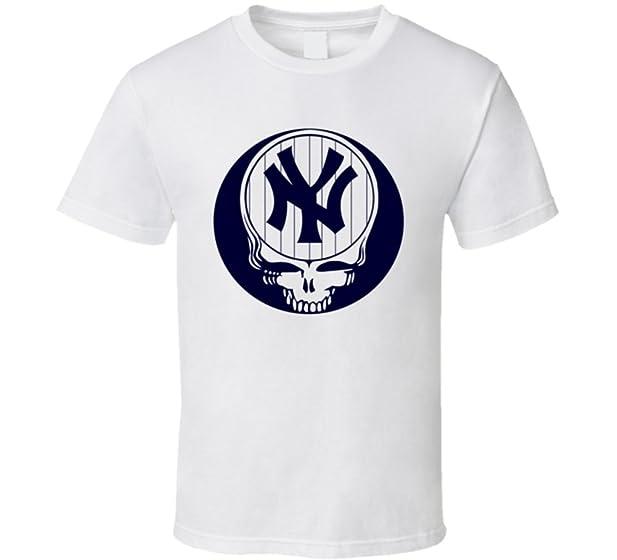 T-Shirt Bandit Steal Your Face New York Grateful Baseball Lot Dead T Shirt S