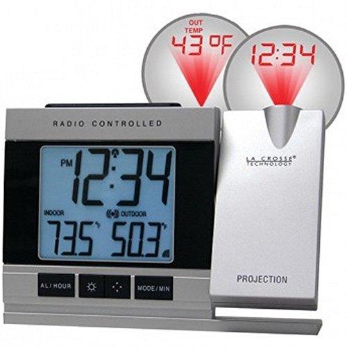La Crosse WT-5220U-IT-CBP Atomic Projection Alarm Clock Indo