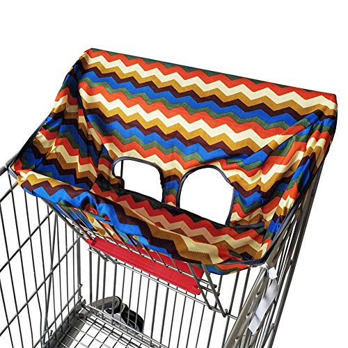 Willcome Baby Shopping Cart Cover Portable High Chair Cover Trolley Seat Pad for Kids Toddler (Rainbow) / Willcome Baby Shopping Cart Cover Portable High Chair Cover Trolley Seat Pad for Kids Toddler (Rainbow)