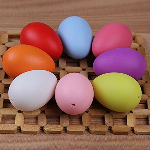 [12Pcs Durable Plastic Bright Colorful Easter Eggs Assorted Colors Holiday Decorations 6CM] (Sally From Cars Costume)