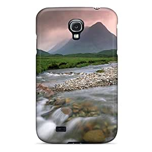 Ultra Slim Fit Hard Mialisabblake Case Cover Specially Made For Galaxy S4- River Through Hills