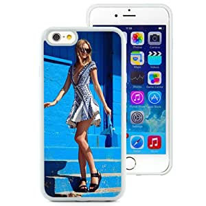 Unique Designed Cover Case For iPhone 6 4.7 Inch TPU With Jessica Maystien Girl Mobile Wallpaper (2) Phone Case