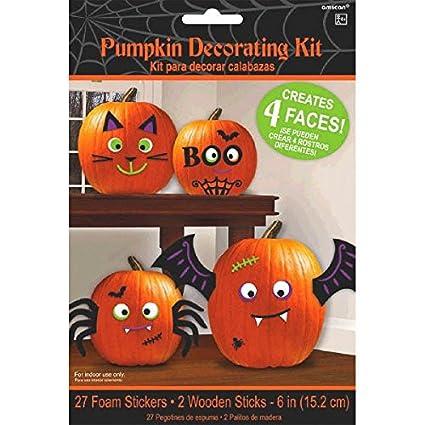 amazon com amscan cute characters halloween trick or treat pumpkin rh amazon com