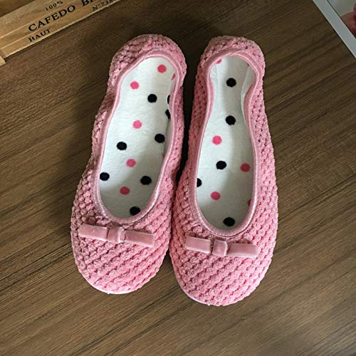 Tout Été Jinsh Et 1 Pink En Automne Au color Hiver Pink Home Size Chaussons Compris Printemps F1xn0xTqES