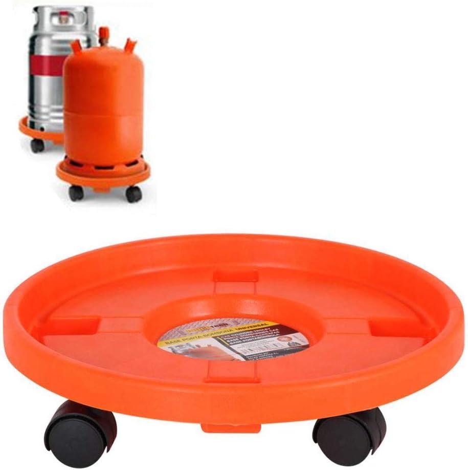 BRICO TECH Carro Porta bombona de Gas butano Universal 90 kg