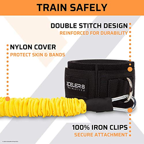DYNAMX TRAINER: 11 Piece Speed & Agility Resistance Bands