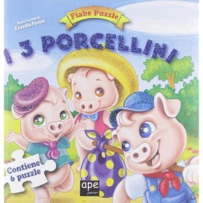 I Tre Porcellini Fiabe Puzzle Libro Puzzle Ediz Illustrata Cartonato 18 Ott 2012