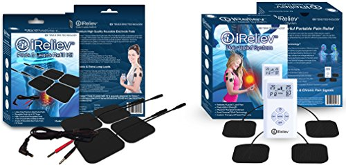 iReliev TOP-BEST TENS Massager Unit Bundle for Pain Relief! The iReliev Bundle IS 100% Guaranteed or Money - Returns Internet Policy