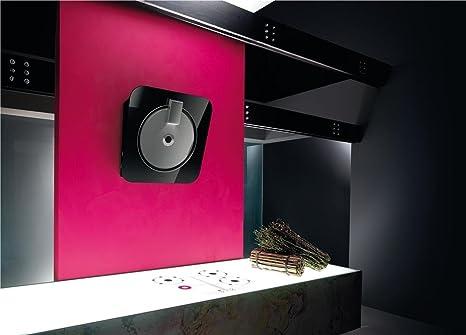 Elica campana extractora de cocina pared de cristal, 55 cm, diseño de MINI, color negro: Amazon.es: Bricolaje y herramientas