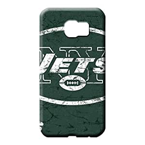 samsung galaxy s6 Ultra Bumper Pretty phone Cases Covers phone back shell new york jets nfl football