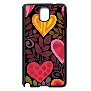 Samsung Galaxy Note 3 Cell Phone Case Black Hearts in Bloom LV7910764
