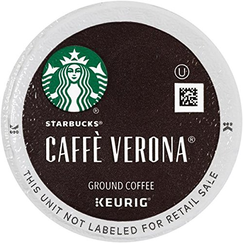 Starbucks Caffe Verona Dark, K-Cup for Keurig Brewers, 96 Count (Italian Roast K Cups Starbucks compare prices)