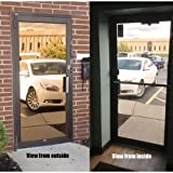 Mirrored Bronze Privacy Window Film, 36'' x 50 ft.
