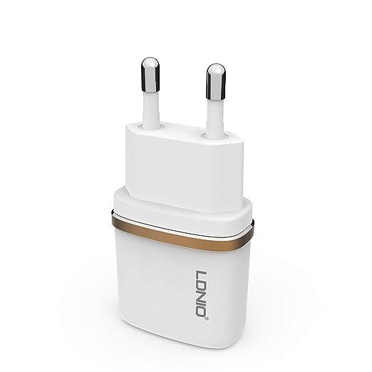 DL-AC50 Un puerto Cargador USB 2.4A Cargador de viaje de carga de ...