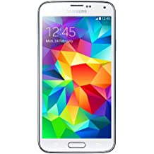 Samsung Galaxy S5 16GB Unlocked Smartphone Import - White