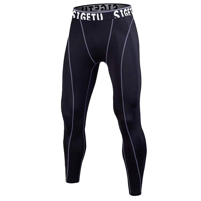 381342e438 Zerototens Mens Compression Leggings Tights Running Pants Base Layer ...