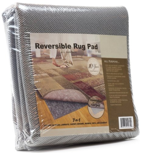 - All-Surface Non-skid Area Rug Pad for 10-Feet by 14-Feet Rug