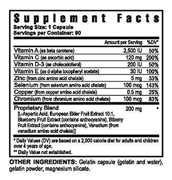 Selenium 100mcg Plus Vitamins and Trace Minerals - 90 Capsules