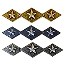 Set of 6 Tri Star Diamond Drawer Cabinet Handle Western Southwest Rustic Texas (1 Please Select)