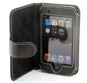 Tuff-Luv Napa funda de piel tipo libro - Apple iPod Touch 1st Gen