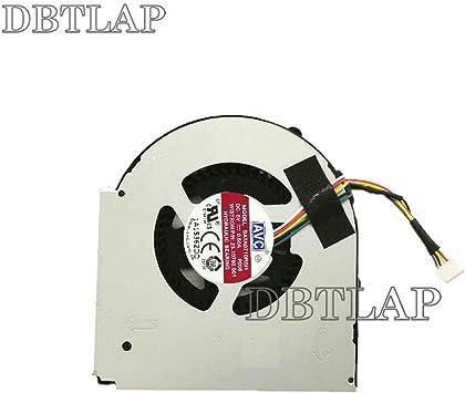 DBTLAP Ordenador portátil CPU Enfriamiento Ventilador para Lenovo ThinkPad L440 L540 Ordenador portátil CPU Ventilador: Amazon.es: Electrónica