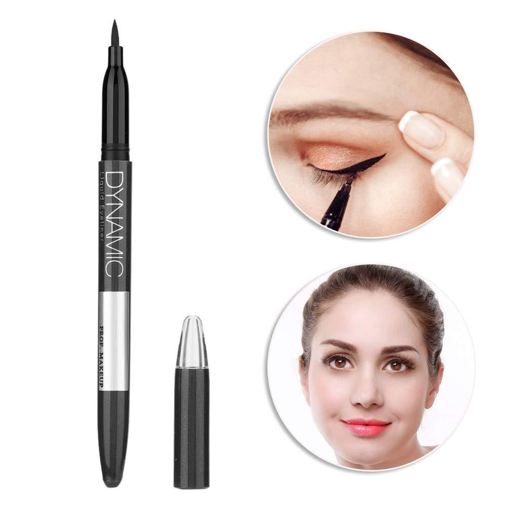 Liquid Eyeliner, Waterproof Sweatproof Non-dizzy Eyeline Pencil, for Natural Effect and Vivid Eyes