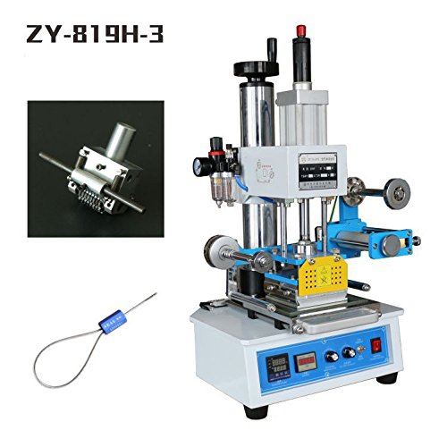 Huanyu InstrumentZY-819H-3 Automatic hot foil stamping machine Pressure words machine Automatic numbering machine Logo creasing machine (can auto change numbers) by Huanyu Instrument