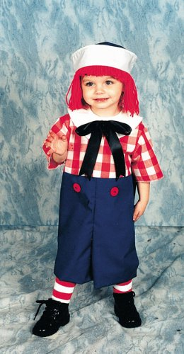 Raggedy Ann Toddler Costume (Raggedy Andy Costume: Boys Toddler Size (2T-4T))