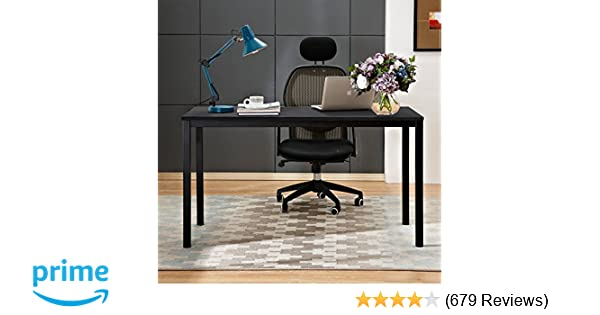 amazon com need computer desk 55 large size office desk with bifma