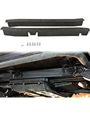 tiewards Driver and Passenger Center Skid Repair Kit for Jeep Wrangler TJ 1997-2006