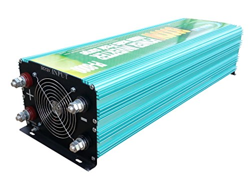 16000W peak 8000W Modified Sine Wave Power Inverter DC 12V to AC 110V , Car power tool by PowerJack