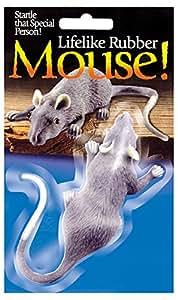 "Loftus International Halloween Decor: Lifelike 3 1/2"" Mouse"