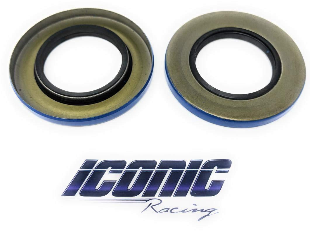 2 Main Gear Case Axle Seals Triple Lip for Polaris Ranger 400 500 800 4x4 XP Crew replaces Polaris 3234300 Iconic Racing