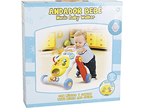 PICCOLOTOYS Andador Baby Walker Música y Sonidos: Amazon.es ...