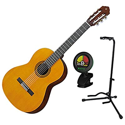 Yamaha CGS103AII 3/4 Scale Student Series Classical Guitar with Tuner and Stand