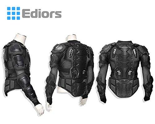 Ediors® Motorcycle Full Body Armor Protector Pro Street Motocross ATV Titan Sport Jacket Shirt (XX-Large) by Ediors (Image #3)